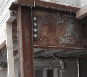 Original Rusting Steel structure