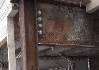 Original Rusting Steel structure